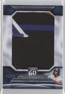 2011 Topps - Topps 60 - Jumbo Relics [Memorabilia] #T60JR-JR - Jose Reyes /20