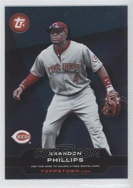 2011 Topps - ToppsTown Series 2 #TT2-18 - Brandon Phillips