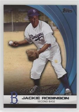 2011 Topps - Wal-Mart Hanger Pack Inserts - Blue #WHP10 - Jackie Robinson