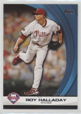 2011 Topps - Wal-Mart Hanger Pack Inserts - Blue #WHP11 - Roy Halladay
