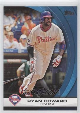 2011 Topps - Wal-Mart Hanger Pack Inserts - Blue #WHP18 - Ryan Howard