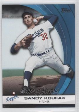 2011 Topps - Wal-Mart Hanger Pack Inserts - Blue #WHP20 - Sandy Koufax