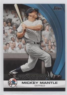 2011 Topps - Wal-Mart Hanger Pack Inserts - Blue #WHP7 - Mickey Mantle
