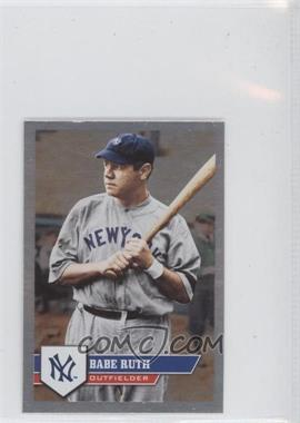 2011 Topps Album Stickers - [Base] #287 - Babe Ruth