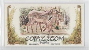 2011 Topps Allen & Ginter's - Animals in Peril Minis #AP18 - Grevy's Zebra