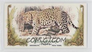 2011 Topps Allen & Ginter's - Animals in Peril Minis #AP26 - Amur Leopard