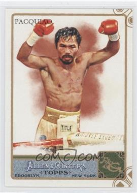 2011 Topps Allen & Ginter's - [Base] - Ginter Code Puzzle Border #262 - Manny Pacquiao