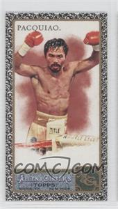 2011 Topps Allen & Ginter's - [Base] - Mini Black Border #262 - Manny Pacquiao