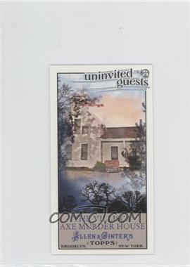 2011 Topps Allen & Ginter's - Uninvited Guests Minis #UG4 - The Villisca Axe Murder House