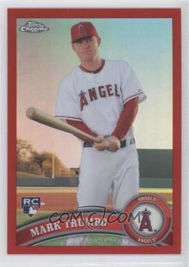 2011 Topps Chrome - [Base] - Red Refractor #178 - Mark Trumbo /25