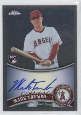 2011 Topps Chrome - [Base] - Rookie Autographs [Autographed] #178 - Mark Trumbo