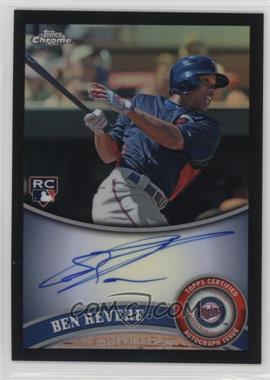 2011 Topps Chrome - [Base] - Rookie Autographs Black Refractor [Autographed] #175 - Ben Revere /100