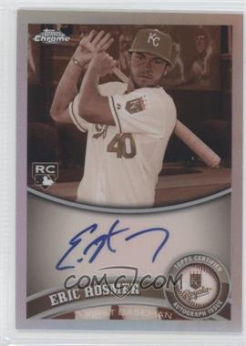 2011 Topps Chrome - [Base] - Rookie Autographs Sepia Refractor [Autographed] #170 - Eric Hosmer /99