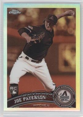 2011 Topps Chrome - [Base] - Sepia Refractor #213 - Joe Paterson /99