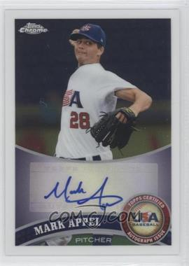 2011 Topps Chrome - Redemption USA Baseball Collegiate National Team - Autographs [Autographed] #USABB1 - Mark Appel