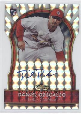 2011 Topps Finest - [Base] - Die-Cut Mosaic Refractor Rookie Autographs [Autographed] #100 - Daniel Descalso /10