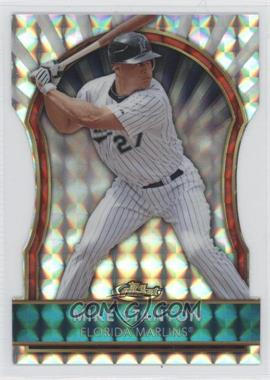 2011 Topps Finest - [Base] - Die-Cut Mosaic Refractor #44 - Giancarlo Stanton /10