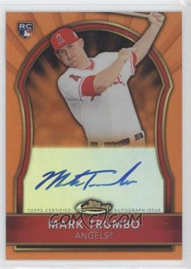 2011 Topps Finest - [Base] - Orange Refractor Rookie Autographs [Autographed] #71 - Mark Trumbo /99