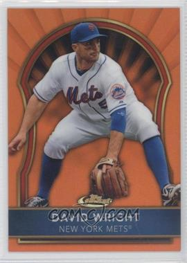 2011 Topps Finest - [Base] - Orange Refractor #35 - David Wright /99