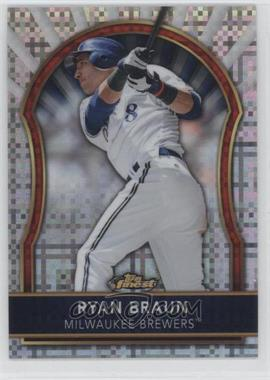 2011 Topps Finest - [Base] - X-Fractor #7 - Ryan Braun /299