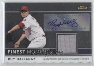 2011 Topps Finest - Finest Moments - Autograph Relics [Autographed] #FMA7 - Roy Halladay /274