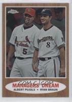 Manager's Dream (Albert Pujols, Ryan Braun) #/1,962