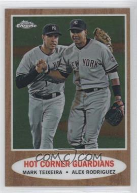 2011 Topps Heritage - [Base] - Chrome #C103 - Alex Rodriguez, Mark Teixeira /1962