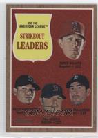 Felix Hernandez, Jon Lester, Justin Verlander, Jered Weaver #/1,962