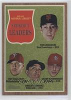 Adam Wainwright, Tim Lincecum, Roy Halladay, Ubaldo Jimenez /1962