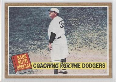 2011 Topps Heritage - [Base] - Wal-Mart Blue Tint #142 - Babe Ruth
