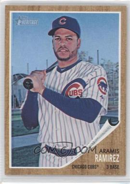 2011 Topps Heritage - [Base] - Wal-Mart Blue Tint #170 - Aramis Ramirez