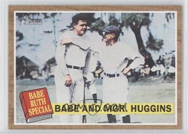 2011 Topps Heritage - [Base] #137.1 - Babe Ruth, Miller Huggins