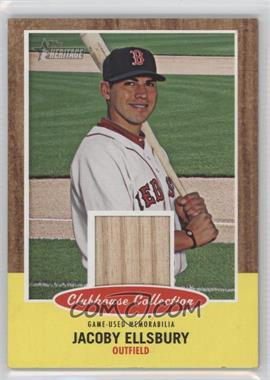 2011 Topps Heritage - Clubhouse Collection Relic #CCR-JE - Jacoby Ellsbury