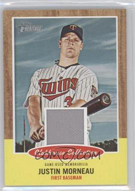 2011 Topps Heritage - Clubhouse Collection Relic #CCR-JMO - Justin Morneau
