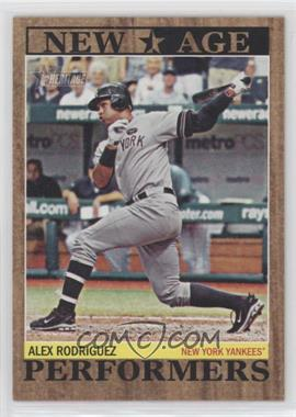 2011 Topps Heritage - New Age Performers #NAP-10 - Alex Rodriguez