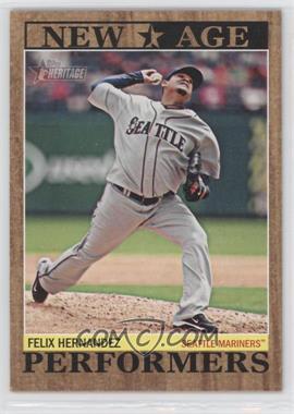 2011 Topps Heritage - New Age Performers #NAP-14 - Felix Hernandez