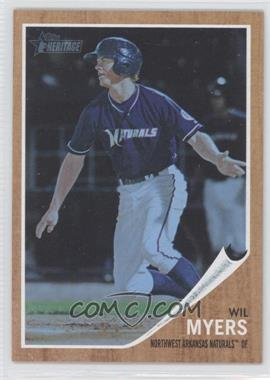 2011 Topps Heritage Minor League Edition - [Base] - Blue Tint #6 - Wil Myers /620