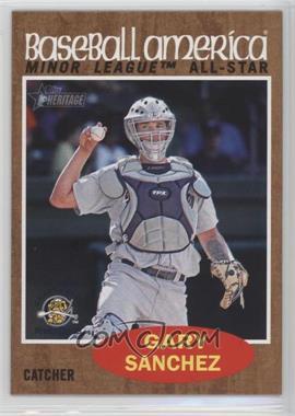 2011 Topps Heritage Minor League Edition - [Base] #233 - Gary Sanchez