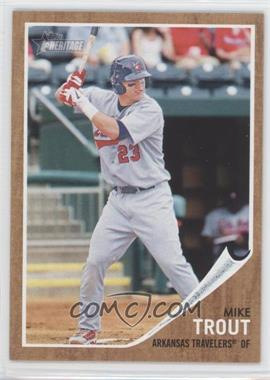 2011 Topps Heritage Minor League Edition - [Base] #44 - Mike Trout
