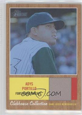 2011 Topps Heritage Minor League Edition - Clubhouse Collection Relics - Blue Tint #CCR-AP - Adys Portillo /199