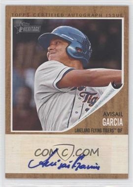 2011 Topps Heritage Minor League Edition - Real One Certified Autographs - [Autographed] #RA-AG - Avisail Garcia /861