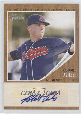 2011 Topps Heritage Minor League Edition - Real One Certified Autographs - [Autographed] #RA-RA - Robbie Aviles /861