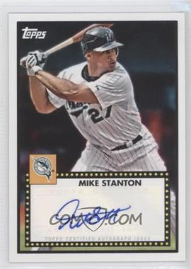 2011 Topps Lineage - 1952 Design Autographs - [Autographed] #52A-MS - Mike Stanton