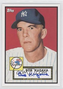 2011 Topps Lineage - Reprint Autographs #RA-BK - Bob Kuzava