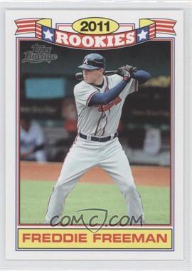 2011 Topps Lineage - Rookies #1 - Freddie Freeman