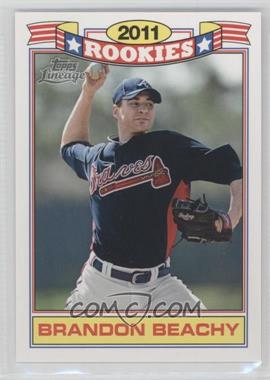 2011 Topps Lineage - Rookies #12 - Brandon Beachy
