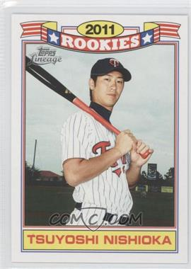 2011 Topps Lineage - Rookies #14 - Tsuyoshi Nishioka