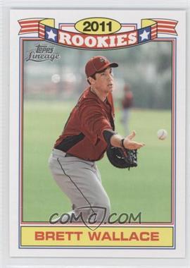 2011 Topps Lineage - Rookies #20 - Brett Wallace