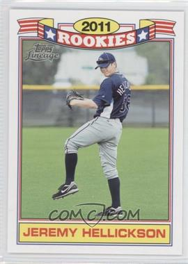 2011 Topps Lineage - Rookies #5 - Jeremy Hellickson