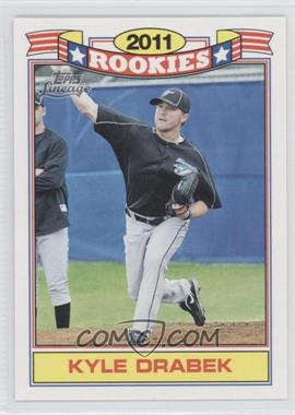 2011 Topps Lineage - Rookies #7 - Kyle Drabek